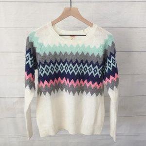 Mossimo Fair Isle sweater